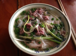 The best bowl of pho bac