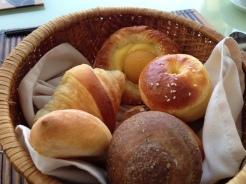 Yummiest bread basket EVER