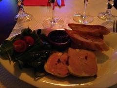Pâté de foie gras, of course.
